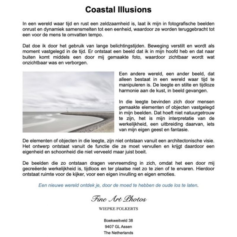 <strong>Flyer Coastal Illusions Nederlands</strong>
