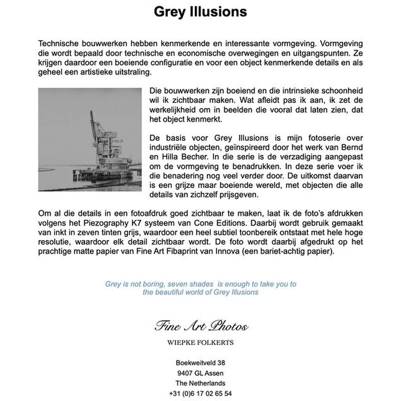 <strong>Flyer Grey Illusions Nederlands</strong>